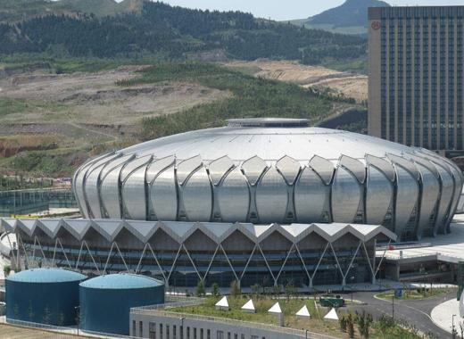 体育中心铝单板案例