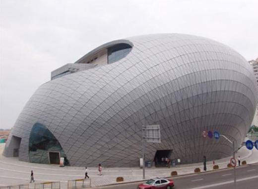 武汉歌剧院铝单板案例