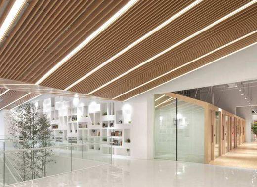 武汉图书馆铝方通案例