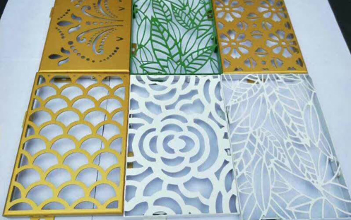 彩色花纹铝单板